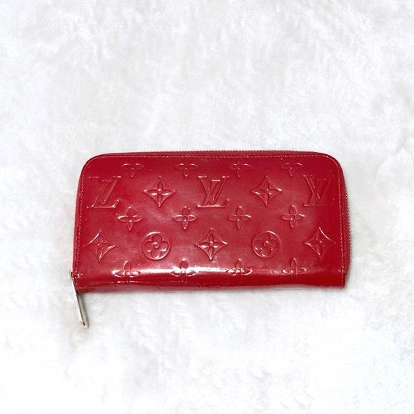 73cdeb79 Auth Louis Vuitton Monogram Vernis Zippy Wallet